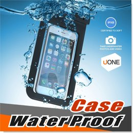 Wholesale Universal iphone s plus samsung note S7 Waterproof Case bag Cell Phone Water proof Dry Bag for smart phone up to inch diagonal