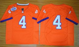 Wholesale sports jersey Finals Clemson College Football Jerseys Playoff National Championship Stitched Jersey
