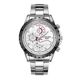 Men's steel watches luxury watch fashion trend business waterproof luminous quartz watch free shipping
