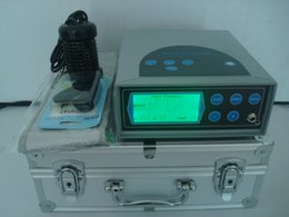 Wholesale Free Fast Delivery DHL Fedex UPS EMS High Quality Ionic Cleaner Detox Machine Spa with EU AU UK USA Plug
