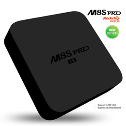 Wholesale 2017 Best selling GB RAM M8S Pro ott tv box android KD17 pre installed RK3229 Quad Core Wifi Smart Set top Box