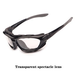 Wholesale-New outdoor climbing glasses fog lenses can be dual-use glasses for glasses legs interchangeable elastic band sports goggles