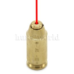 Wholesale Hunting CAL ACP Caliber Cartridge Red Dot Laser Boresighter Laser Bore Sighter Brass For Rifle