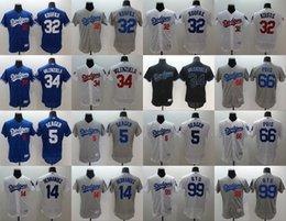 Wholesale 2016 Men Los Angeles Dodgers Corey Seager Enrique Hernandez Valenzuela Puig Hyun Jin Ryu flexbase baseball jerseys Stitched