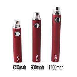 E Cigarette Evod Battery Electronic Cigarette Evod Battery 650mAh 900mAh 1100mAh For E Cig MT3 CE4 Atomizer