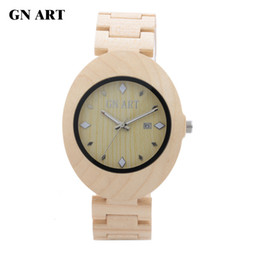 GNART069 Wood Watches Men bowl table Bamboo bowl table Gift table Fashion watches Casual watch Lovers watch Quartz watch