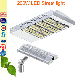 200W LED Street Light walkway garden lamp fluorescent lighting overpass led road light match a pole adapter 3years warranty
