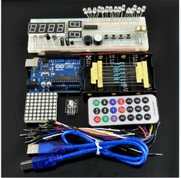 Wholesale UNO R3 Starter Kit With Basic Arduino Projects