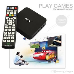 Wholesale Smart Google MX TV Box G BOX XBMC Fully Loaded AML8726 Dual Core Android TV Box G G