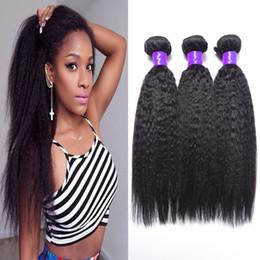Wholesale malaysian virgin hair bundles kinky straight hair weave yaki human hair virgin malaysian hair weave kilala hair factory vendors