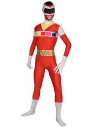 Free shipping red spandex tights Lycra all-inclusive team leotard blending Halloween costumes Theatrical Costume