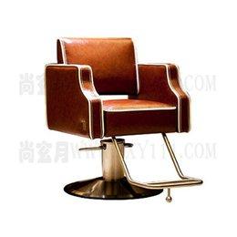 Wholesale Hairdressing chair salon styling chair high quality salon beauty chair hair cut chair barber chair brown gorgeous salon chair