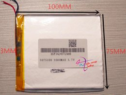 Wholesale best battery brand Size V mah Lithium polymer Battery For iPad Tablet PDA Digital Produc