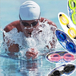 Wholesale PC Lenses Material and Swimming Usage prescription swim goggles advanced swimmng pool goggles safety swim welding eye glasses diving goggles