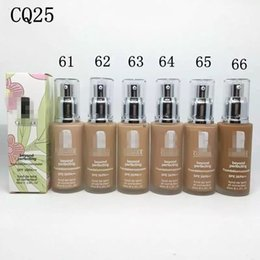 Wholesale 2016 new lasting whitening efficacy of a variety of waterproof glass nozzle pressure isolation moisturizing liquid foundation