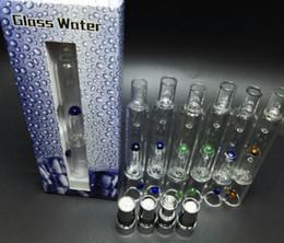 Wholesale 2016 Pyrex Glass Water Atomizer Hookah Pen Smoking Pipes E Cig Tank Dry Herb Wax Vaporizer Glass Atomizer For EGO Evod Battery ATB031