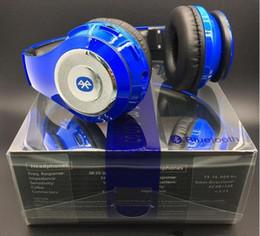 Casque stéréo xbox en Ligne-DHL Rue Earphone Sport Casque sans fil Bluetooth Headset Pliable Casque avec retai DJ Stereo Audio Over-oreille Casques sou Massive