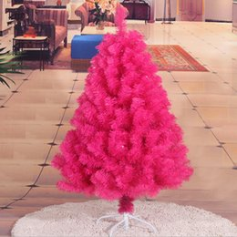 120CM   1.2M Rose Hotel encryption Christmas tree Christmas decoration shopping malls decorative items