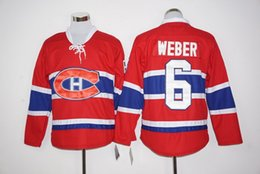 Wholesale 2016 new arrival NHL Montreal Canadiens SHEA WEBER Lace Red Hockey Jersey Stitched