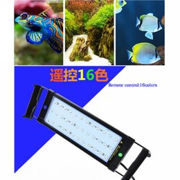 52cm extended to 70cm 11W RGB LED Aquarium Light for Fish Reef Tank 100~240V Plug and Play With Power Supply