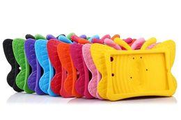 Butterfly Design Shockproof Kids Handle EVA Foam Case Cover for iPad Mini 2 3 4 IPAD AIR PRO 9.7 2017 Galaxy Tab 7.0 30pcs lot