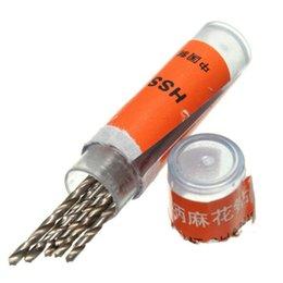 Meilleur Promotion 10pcs Mini Micro Petit Twist Forets 0.8-1.5mm Prix de gros metal drill bits deals à partir de forets en métal fournisseurs