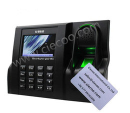 Wholesale templates Biometric fingerprint time attendance with Black White LCD Color TFT screen with GUI Interface