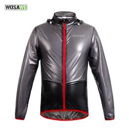 2017 vélo vélo veste de manteau de pluie Veste de vélo WOSAWE Vestes de pluie multifonctions Imperméable à l'eau Vélos de vélo VTT Ciclismo Veste de pluie avec capuche peu coûteux vélo vélo veste de manteau de pluie