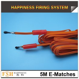 Wholesale FedEX DHL M electric igniter M length display igniter fireworks electric igniters for display fireworks