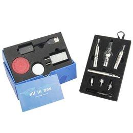 All in one vaporizer pen kit dry herb vaporizer starter kit with EVOD battery MT3 clearomizer ce4 starter kit 3 in 1 kit