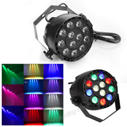 Wholesale 12 Led Beads Par Lights W RGBW Stage Lighting With DMX Model Business Lights Led for Wedding Party Disco DJ EU US