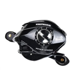 Wholesale KastKing Royale Legend Dual Brake Baitcasting Reel BB Max Drag KG Bait Casting Lure Fishing Reel Wheel