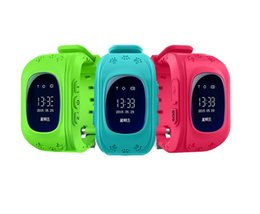 Wholesale Child Gps Gsm Watch - Excelvan Q50 Smart Phone Watch Kids Wristwatch GSM GPRS GPS LBS Location Tracker Anti-Lost Children Smartwatch for Android Ios