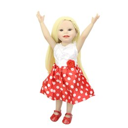 Wholesale Latest Style Inch American Doll Baby Realistic Full Vinyl Reborn Dolls So Truly Real Princess Girls Kids Birthday Gift