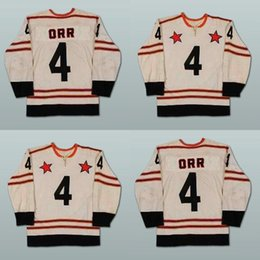 Hot Sale Cheap Mens 4 Bobby Orr All Star Ice Hockey Jerseys Stitched Sewn NEW Embroidery Stitched Ice Hockey Jerseys Accept Mix Order