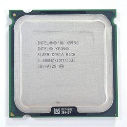 Wholesale Intel Xeon X5450 Processor GHz MB FSB MHz LGA775 CPU Close to Core Quad q9650 works on LGA775 mainboard no need adapter