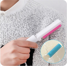 Wholesale NEW Roller Brush Cleaner Folding Washable Lint Dust Hair Remover Cloth Sticky Dust Removal Brushes