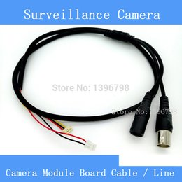 Wholesale High Quality Simple CCTV AHD CCD Camera Module Board Cable Line Analog HD Video Power Supply Port