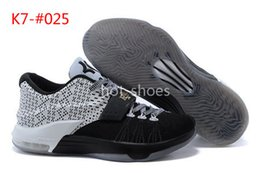 Wholesale Kevin Durant KD7 VII BHM Black History Month Basketball Shoes Cheap KD Men s Sport Footwear Kds Sneakers For Sale