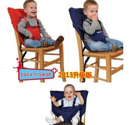 Baby Chair Portable Infant Dining Baby Carrier Hair Seat Safety Belt Baby Sling Baby Bag Feeding High Chair Carrier