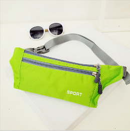 Unisex Running Bum Bag Travel Handy Hiking Sport Fanny Pack Waist Belt Zip Pouch Free Shipping