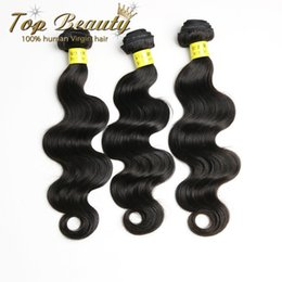 Wholesale Big Sale Brazilian Indian Peruvian Malaysian Unprocessed Virgin human hair weave Body Wave Top Beauty Hair Products