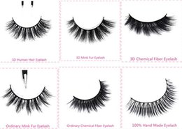 Top Quality Private Label Natural Looking 3D Real Mink Fur Eye Lashes 5 pairs in 1 box