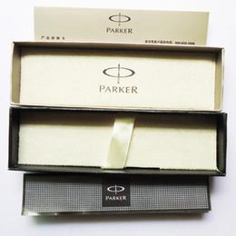 Cartuchos de tinta de la fuente al por mayor en venta--Original al por mayor de la fuente Parker Pen case cuadro lápiz de recambio cuando sea De Oficina paquete de papelería para regalo