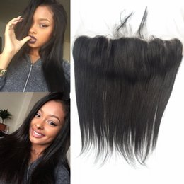 Full Frontal Closure Indian Straight Remy Hair Closure Virgin Human Hair Lace Frontal Closures Free Part LaurieJ Ha