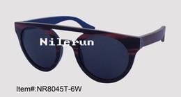 new brand double bridge round shape black polarized layered wood sunglasses