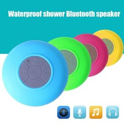 Wholesale Hot Sale Portable Waterproof Wireless Bluetooth Speaker Shower Car Handsfree Receive Call Mini IPX4 Speakers Box Player Mic