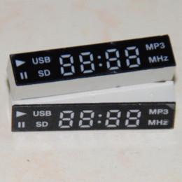 Wholesale 2pcs LED Display segment digit for Car Audio System or DVD Red digital breathalyser