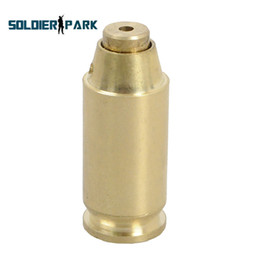 Wholesale Hunting Airosft Military Accessory ACP Copper Red Dot Laser Sighter Bullet Shaped Bore Sight Cartridge Brass Boresighte order lt no track