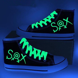 New Arrival Cartoon Game SOX Luminous Canvas Shoes,Outdoor Leisure Fashion Sneakers,Unisex Casual Shoes Hot Items